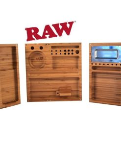 RAW_Rolling_Tray_Bamboo_Triple_Flip