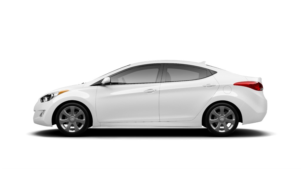 refreshed 2014 hyundai elantra arrives at la auto show the korean car blog. Black Bedroom Furniture Sets. Home Design Ideas