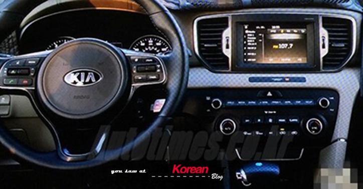 2016 Kia Sportage Interior Revealed in a Korean Magazine - The ...