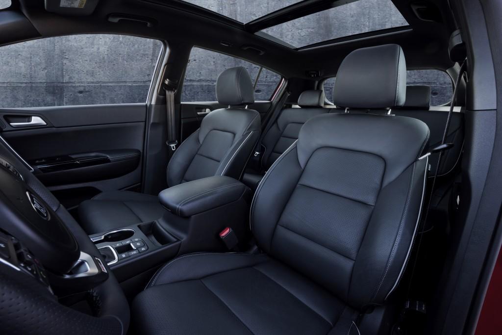 2016 sportage full specs interior revealed (3)