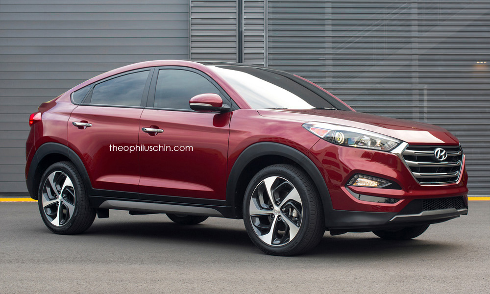Would You Like To Have A Tucson Coupe The Korean Car Blog