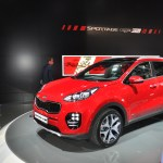 Kia Sportage Fiery Red