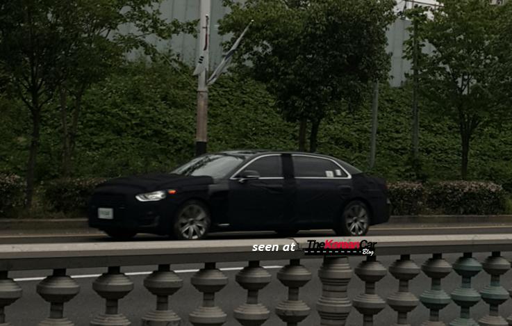 2017 hyundai equus limousine spotted (1)