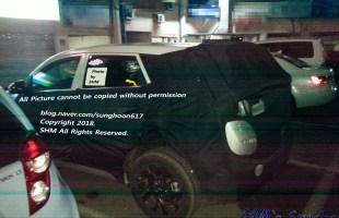 Hyundai Tucson Spied Facelift (2)