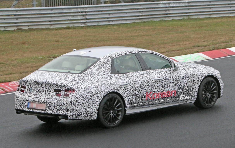 Genesis G80 Spied Now At Nurburgring The Korean Car Blog