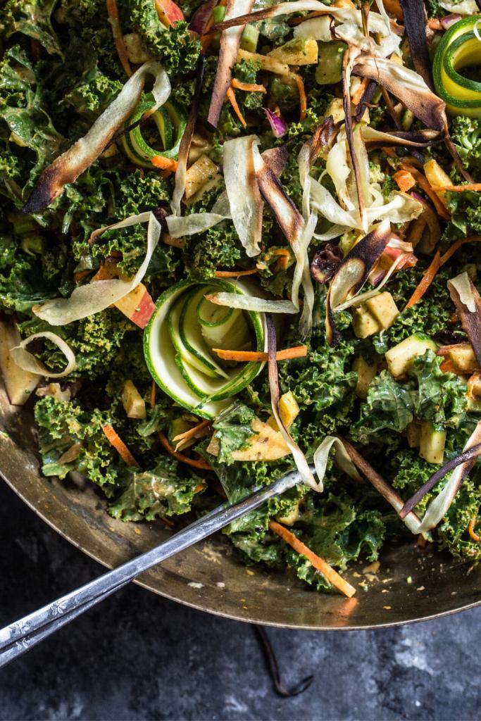 kale salad in bowl