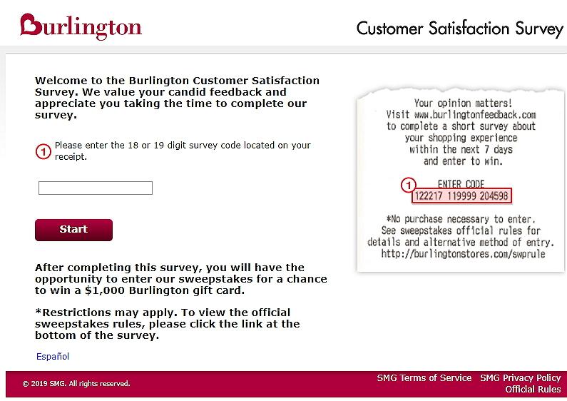 www.burlingtonfeedback.com homepage