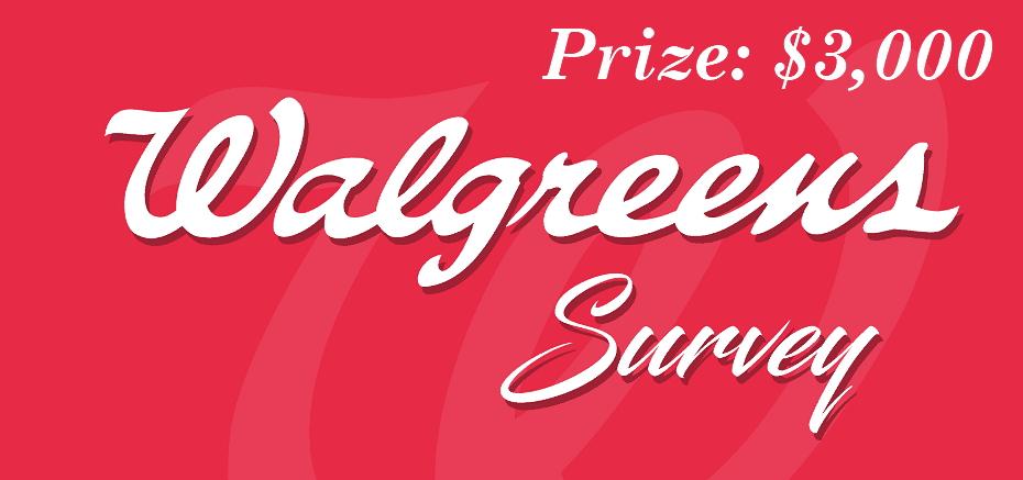 walgreenslistens survey prize