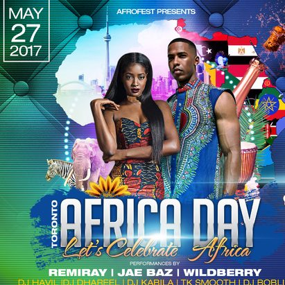 Music Africa Presents Africa Day, Sat. May 27th @ Adelaide Hall #Toronto