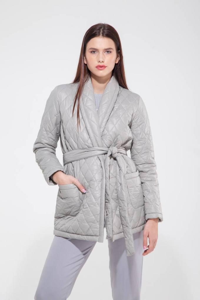 Куртка стёганая серая - THE LACE