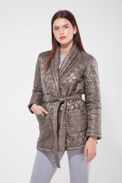 Куртка стёганая оливковая - THE LACE