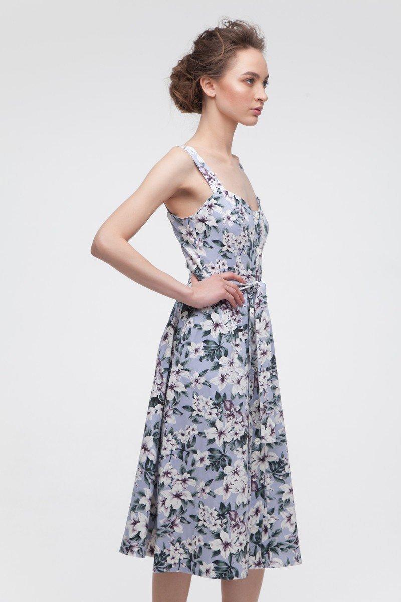 Сарафан с пышной юбкой Purple magnolia - THE LACE