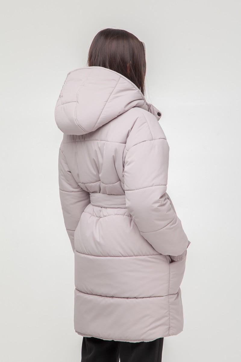 Куртка oversize длинная бежевая - THE LACE