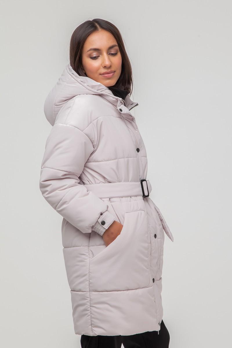 Куртка oversize длинная молочная - THE LACE