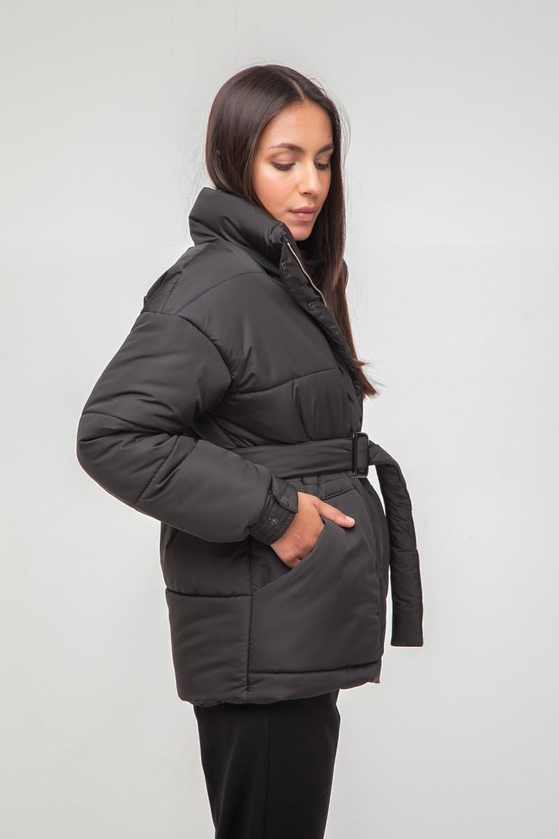 Куртка oversize черная - THE LACE