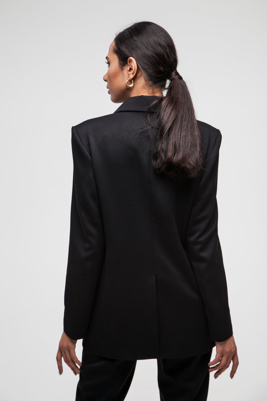 Жакет oversize черный - THE LACE
