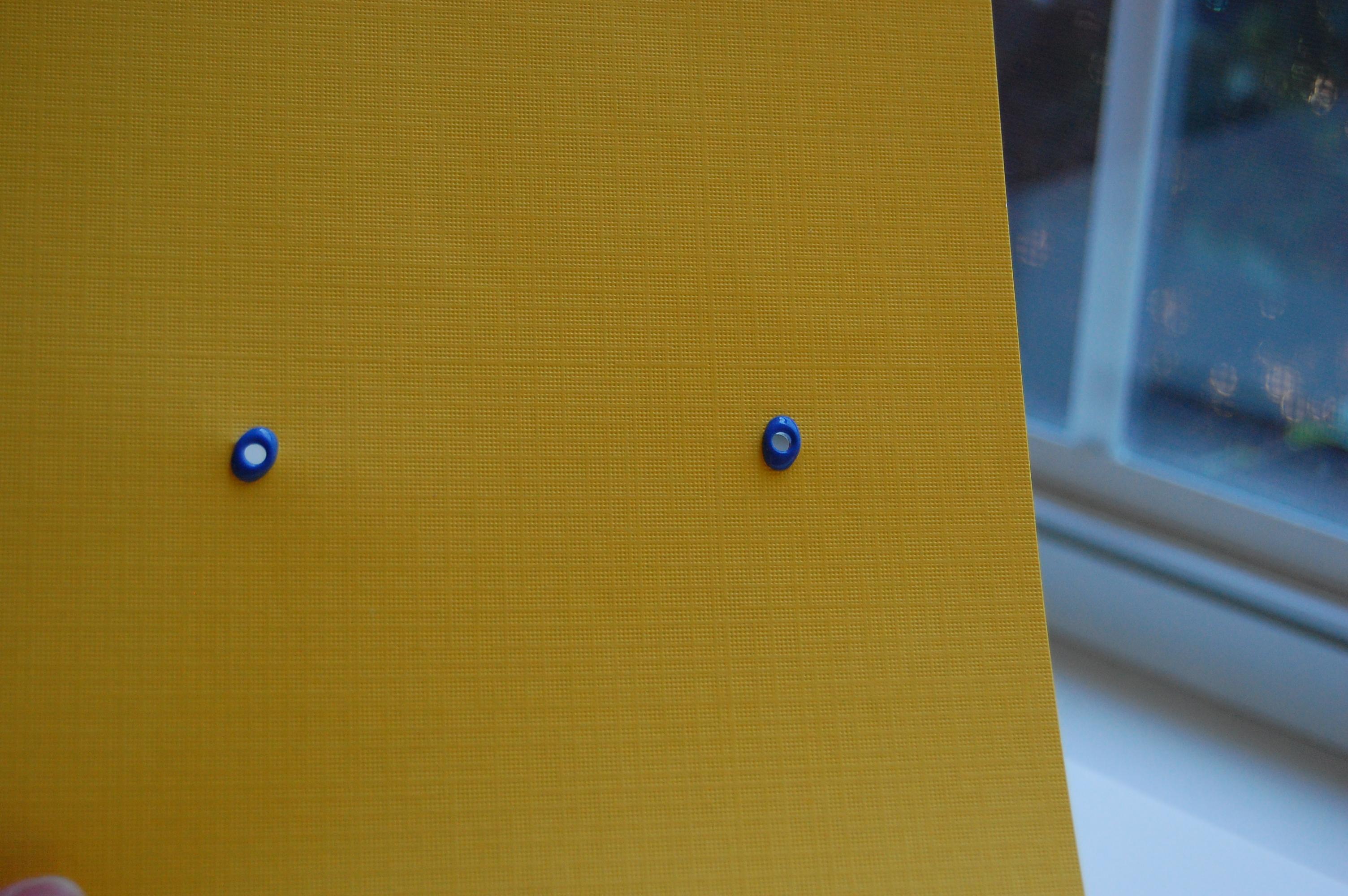 two eyelets set