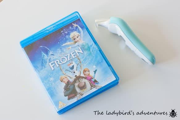 Poorly ladybird, frozen and bathroom plans #littleloves