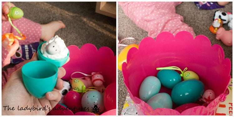 Easter basket for a baby or toddler