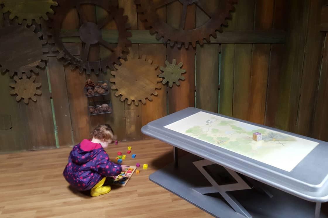 Peter rabbit adventure, Wray castle