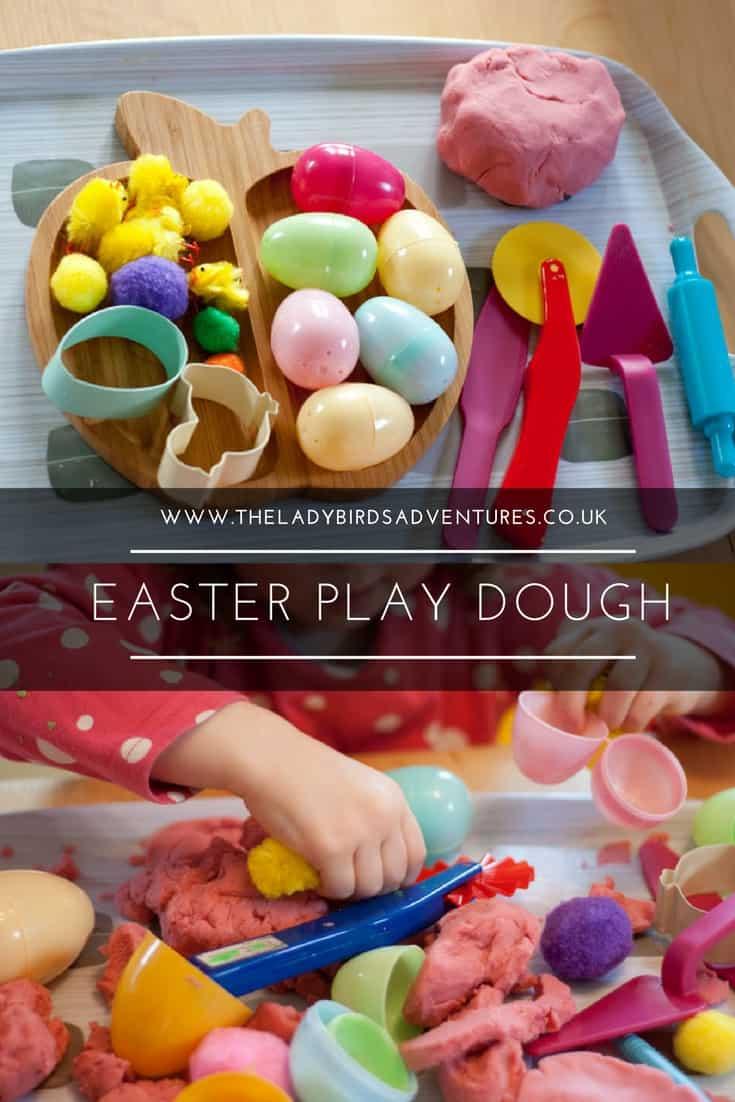 Easter play dough