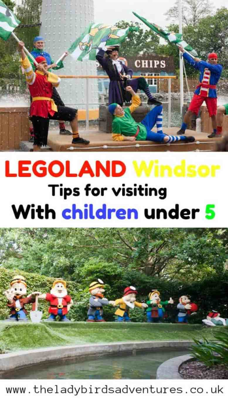 Legoland Windsor with children under 5