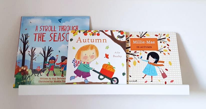 7 inspiring autumn children's books