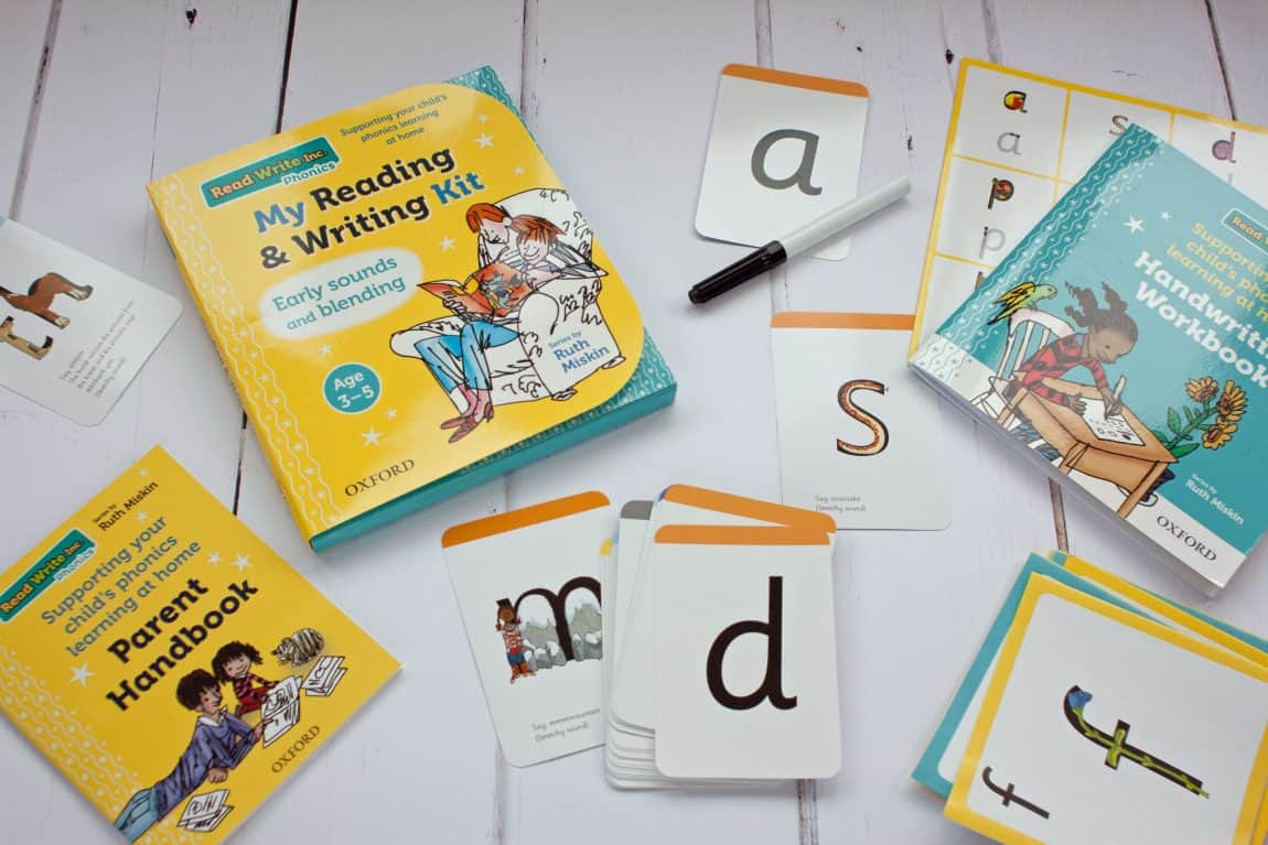 Read Write Inc. My reading and writing kit review