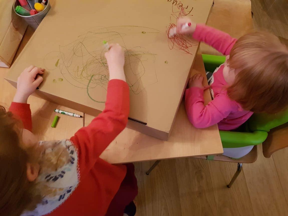 Encouraging creativity in school children