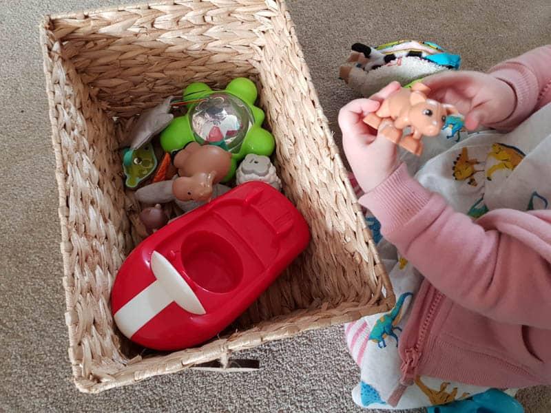 Nursery Rhyme Treasure Basket