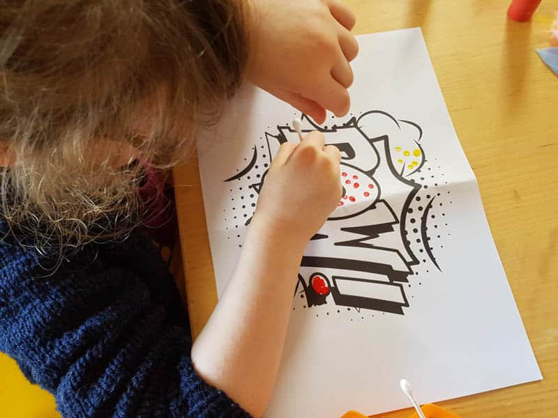 Nursery rhymes, crafting and designated survivor. February's #little loves