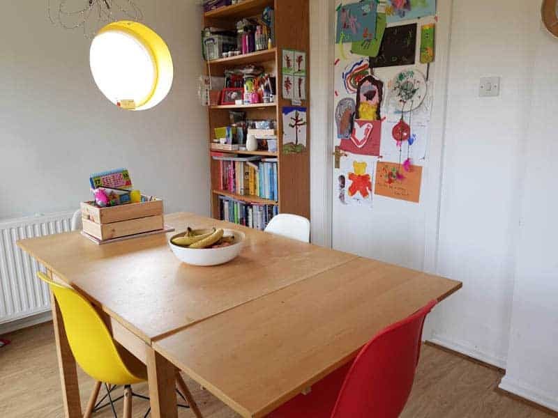 Creating An Art Space For Kids