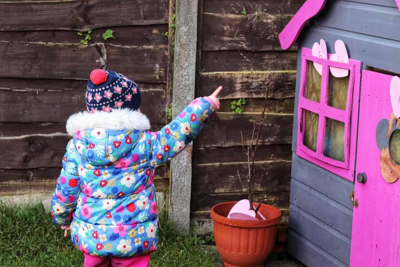 Outdoor Number Hunt For Preschoolers