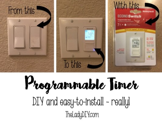 Easy DIY Programmable Timer