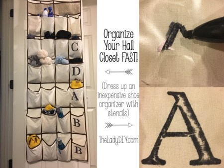 DIY Easy Closet Organization