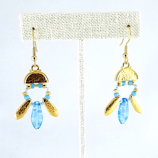 Blue Points earrings