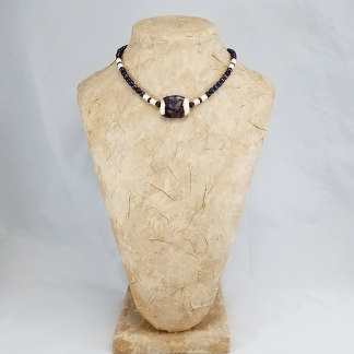 Ivory Iris necklace