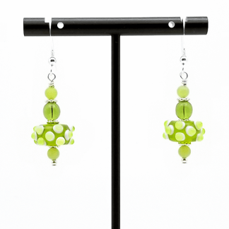 Lime Love earrings