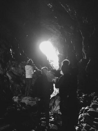 Merlin's Cave - Tintagel