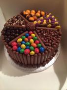 Chocoholic overload cake