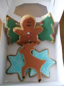 Box full of cookies