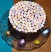 Easter Chocolate Fudge Cake