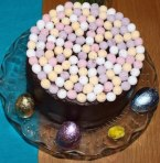 Easter Chocolate Fudge Cake