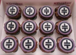 Take That themed cupcakes