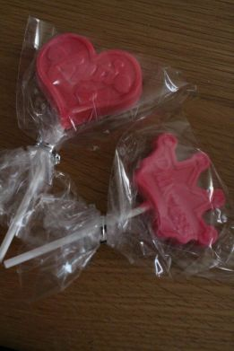 Chocolate party bag favors