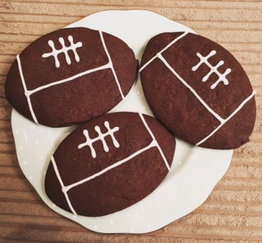 Rugby Ball Biscuits