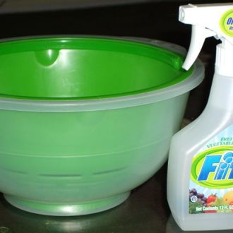 Fit Fruit & Vegetable Wash Hack!
