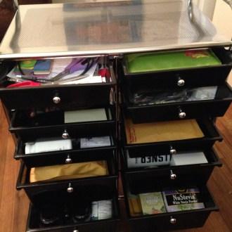 Organizational Ideas: Rolling Workstation!