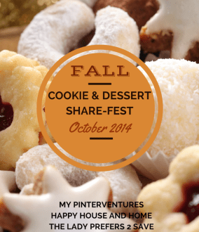 Fall Cookie & Dessert Share-Fest: Cupboard Clearing Cake!