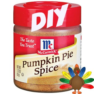 Making More Out of Monday Meals: DIY Pumpkin Pie Spice Recipe!